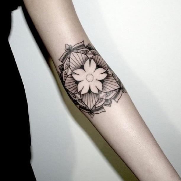 Simple Jasmine Flower Tattoos