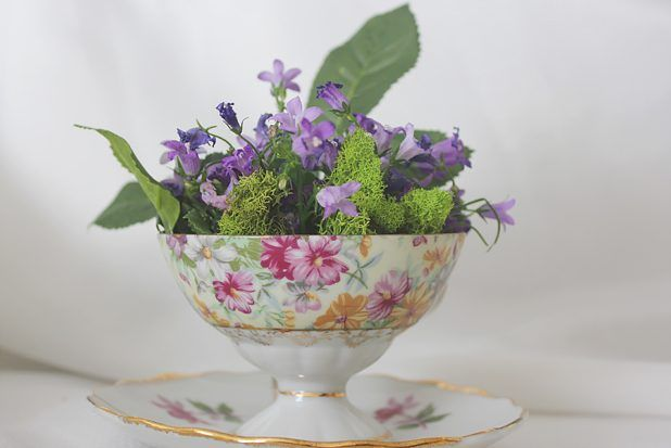 How To Create A Teacup Floral Arrangement Floral