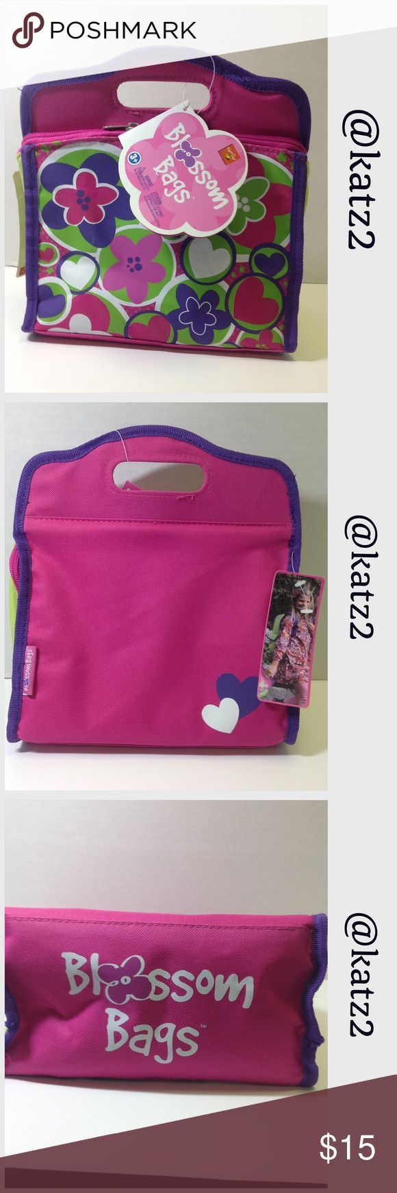Blossom Bags Insulated Tote/Lunch Bag 🔹 Insulated, opens for easy cleaning …..