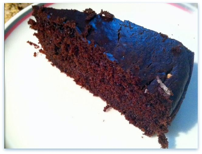 chickpea flour chocolate cake