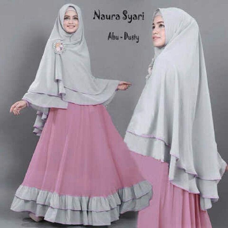 Gamis Syar'i Modern NAURA ABU-DUSTY - http://warongmuslim.com/gamis-syari-modern-naura-abu-dusty/