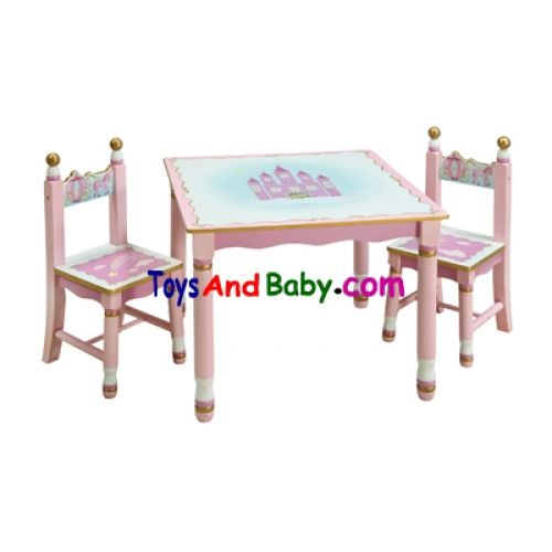 Guidecraft Furniture : Guidecraft Princess Table And Chairs