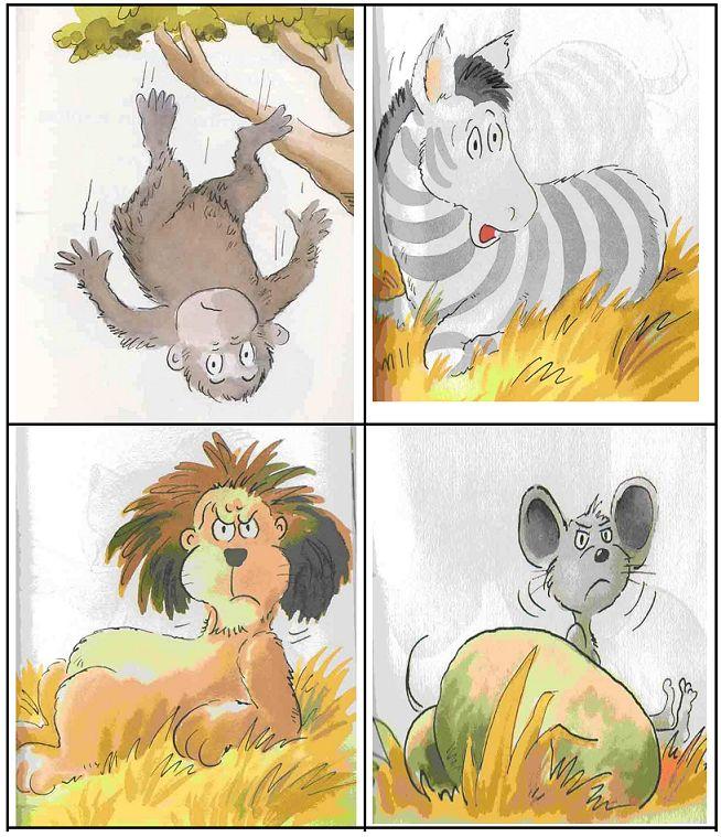 """Actividades de lectura compartida: El nabo gigante. Elefante tiene hipo. Ronquidos actividades  Armar una lista de personajes. Lectura de tarjetas con frases o palabras  Memotest para asociar palabra e imagen. Lotería de palabras con imágenes localizar una palabra incluida en una fila de """"distractores""""."""