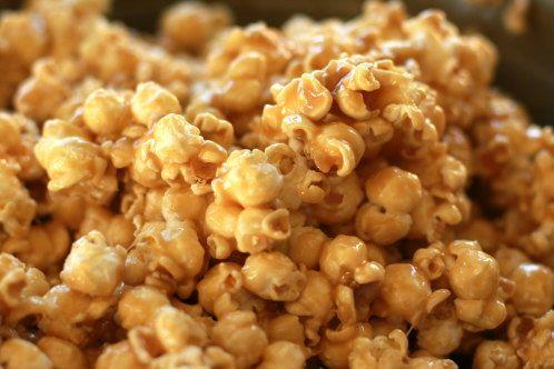 Gooey Carmel Corn