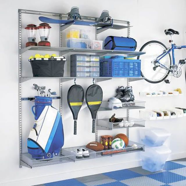 Sports Equipment Organization Storage Ideas Pinterest Garage Organisation And