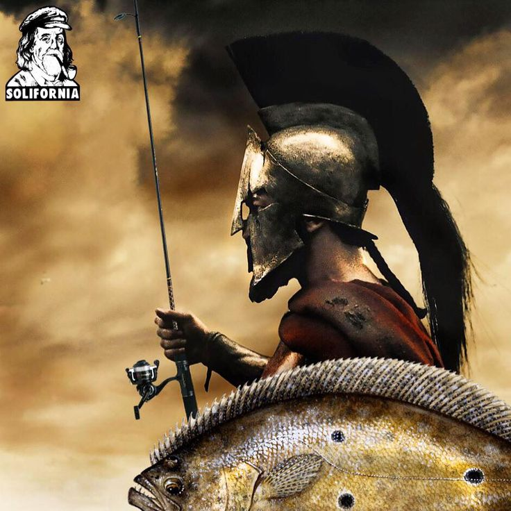 #spartan #sparta #300 #graphics #graphicart #art #artist #artwork #fish #fishing #fisherman #dope