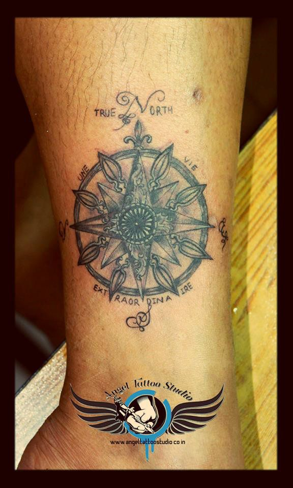 Sudarshan Chakra Tattoo Design