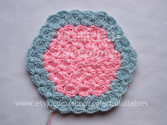 Ravelry: Jasmine Stitch No. 8- 6 petals with bobbles in the round ...