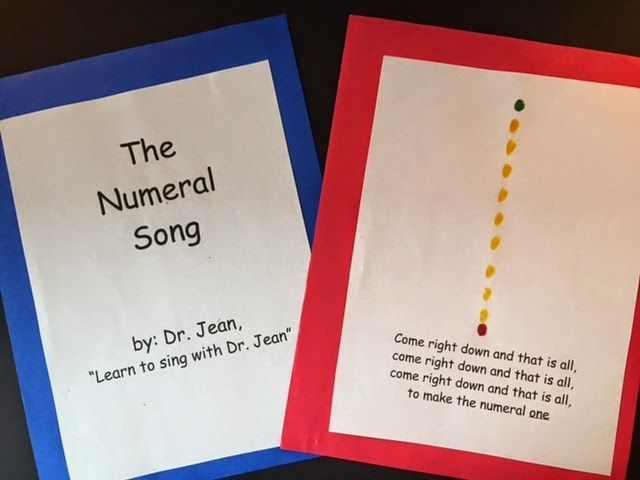 NUMERAL SONG BOOK - Dr. Jean & Friends Blog