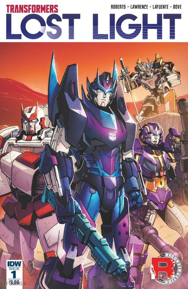 IDW's The Transformers: Lost Light Issue 1 Full Comic Book Preview