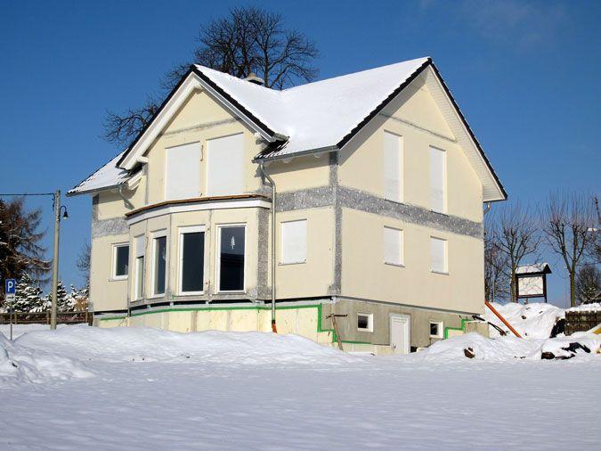 Bautagebuch Einfamilienhaus - Außenansicht