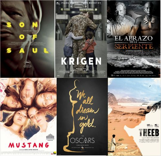 5 foreign-language film submission to Oscars2016 get an Academy Award nomination