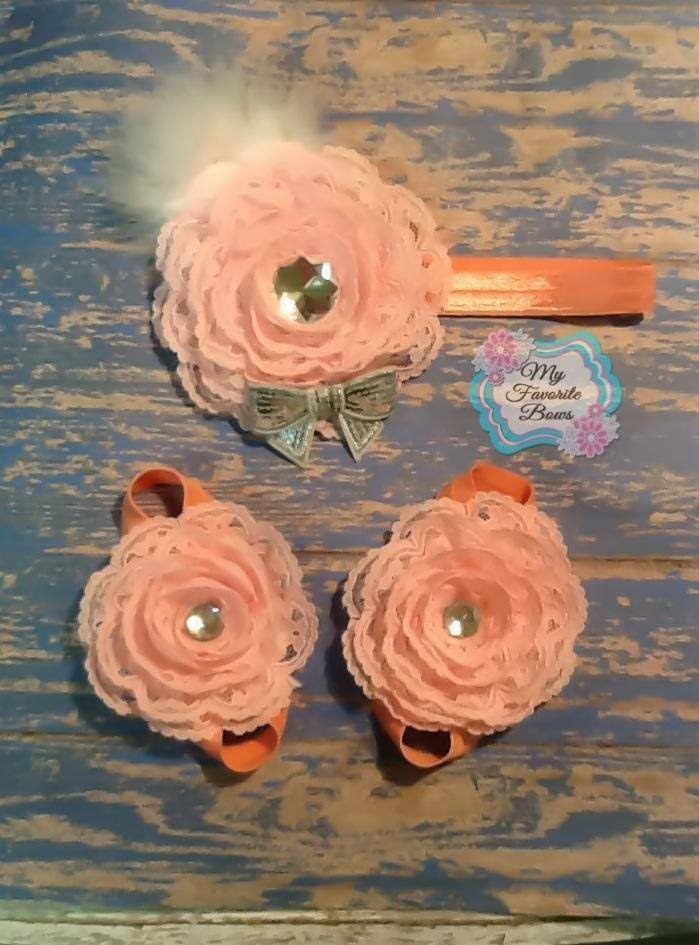 How to make trim/lace flowers