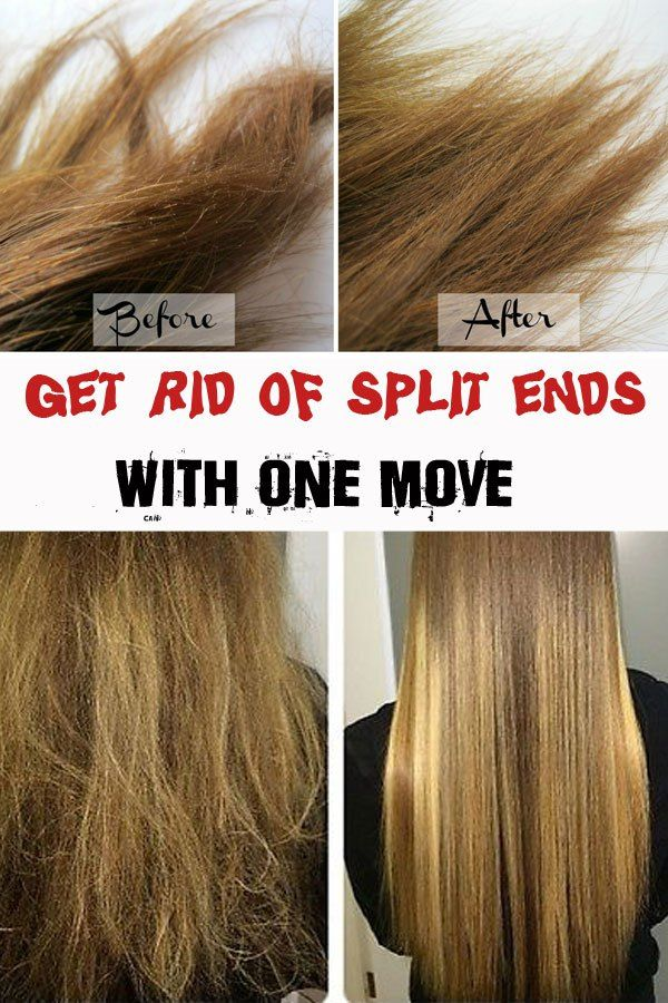 ways to get rid of split ends fast 2