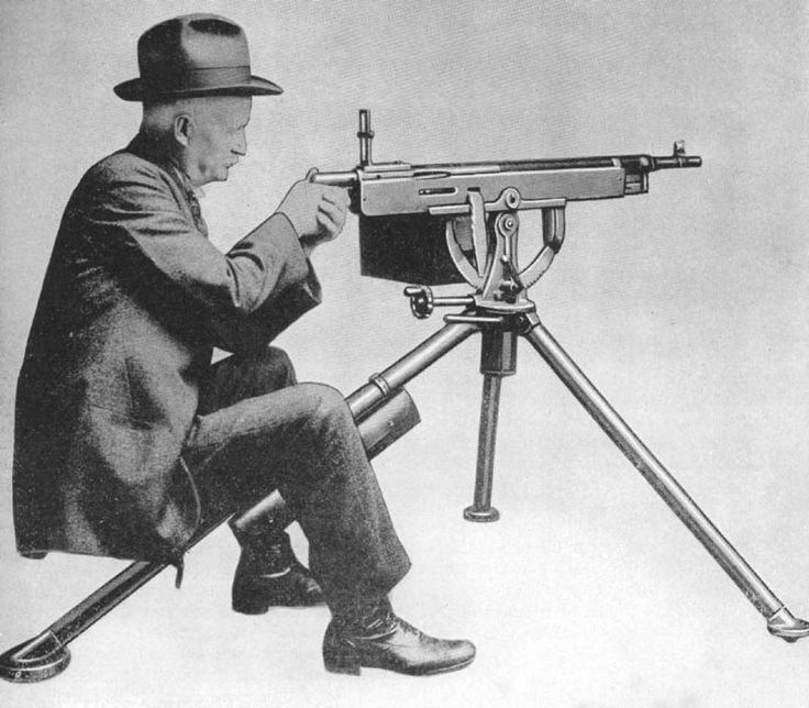 "Browning Machine Guns ""Potato Digger"""