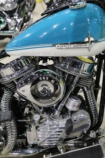 OldMotoDude: 1948 Harley-Davidson Panhead Replica for sale for $15,000 at the 2018 Denver Motorcycle Expo