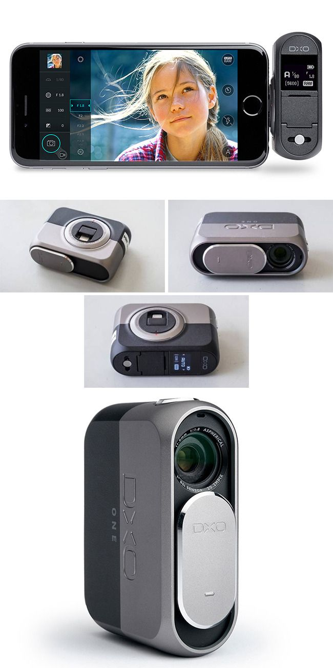 Enhance Imaging Experience with #DxO-One Plug-in #Camera, Built for #iPhone