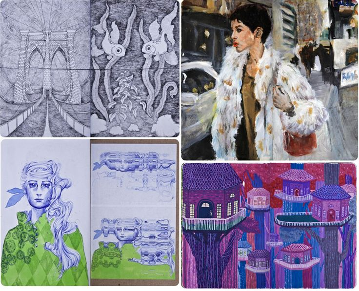 Permanent Sketch Book: 10+ Ideas About Sketchbook Project On Pinterest