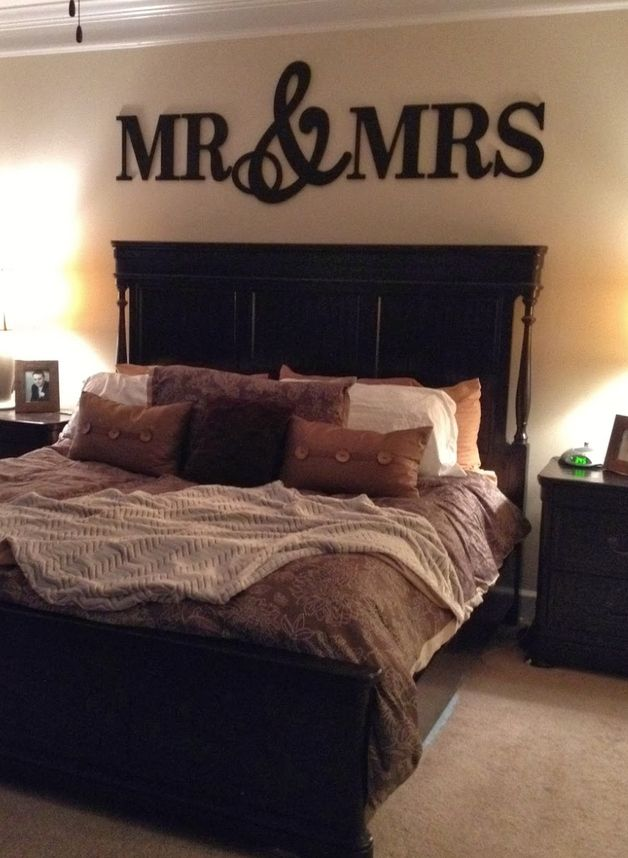 Perfect Valentine's Day gift for him and her. Wall Art – MR & MRS Wood Letters – a unique product by woodenlettersforyou via en.DaWanda.com #romantic