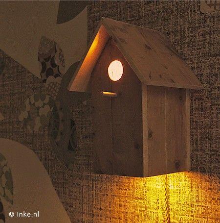 Vogelhuislampje.