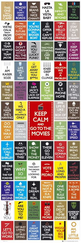 Some of the most famous movie quotes ever, as I want to be a script write #MFC4012