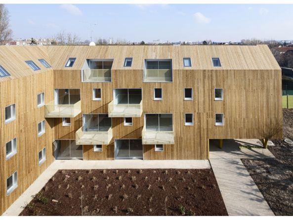 Bondy, Atelier du Pont, sozialer Wohnungsbau, Frankreich