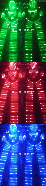 LED Costume66 /LED Clothing/Light suits/ LED Robot suits/ Luminous costume/ trajes de LED