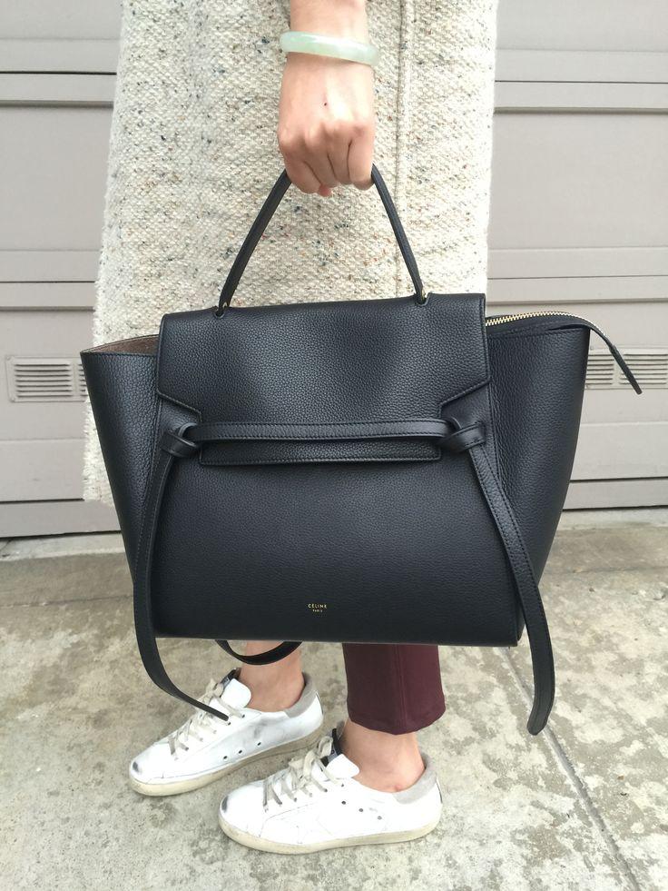 celine belt bag street style - Google Search | HotBags | Pinterest