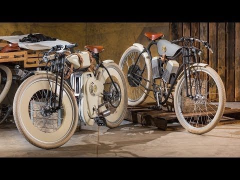 Motorized Bike Hides 21st-Century Tech With Turn-of-the-Century Style