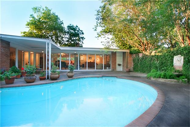 110 best contemporary mid century modern house exterior for Mid century modern homes for sale houston