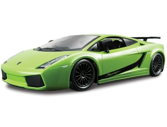 Voiture de collection miniature BBURAGO 1/24 Star - Lamborghini Gallardo - 21037 #vert #green