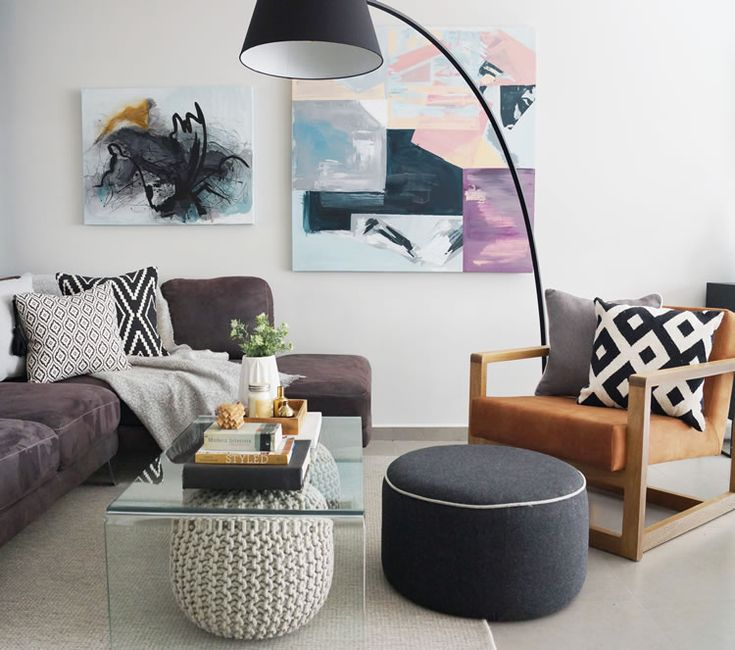 Scandi inspired living room makeover / Transformación sala estilo Scandi - Casa Haus Deco