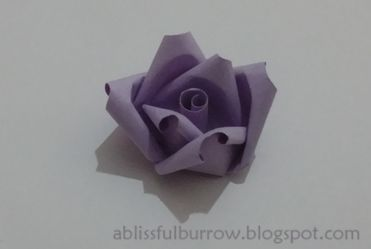 Paper Quilled Rose | A Blissful Burrow