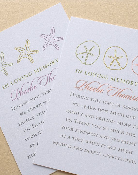 25 best ideas about funeral thank you cards on pinterest funeral thank you notes sympathy