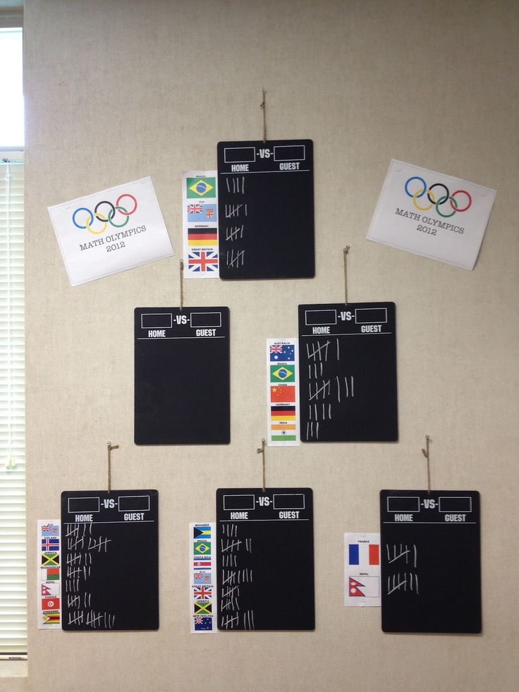 Math Olympics for end of the year engagment