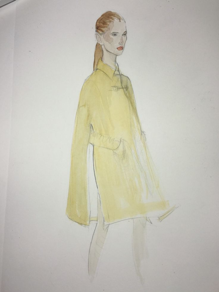 by Eva Syfert #fashionillustration #watercolors #watercolor #drawing #fashionista #fashion #camelcoat #cape #resort2016 #gabrielahearst #pencilsketch #pencildrawing #pencil #ecoline #prefall2016 #preautumn #prefall #preautumn16 #fashionaddict #fashiondesign #fashiondiaries #fashionillustrator #fashionillustrations #fashionillustrators #fashionweek #illustration #evasyfert #fashioninspiration