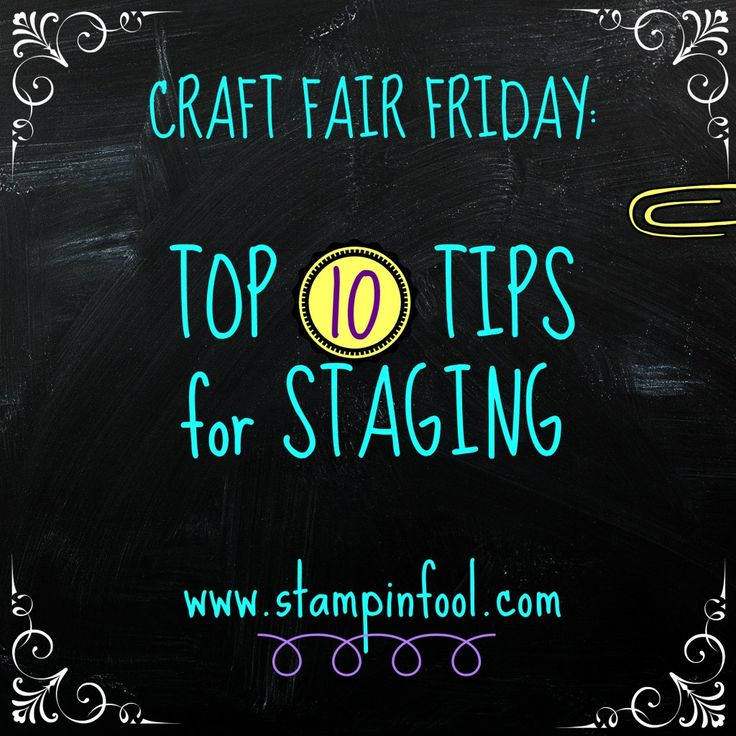 Top Craft Fair tips, tricks and tutorials | Stampin Fool