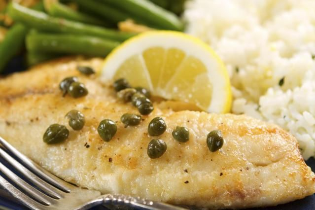 Make Elegant Tilapia Piccata: Tilapia with Lemon Caper Sauce. Awesome! Will make more sauce next time!