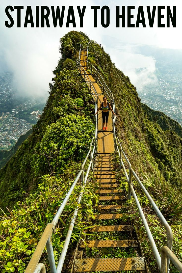 The Infamous Stairway To Heaven Hike!