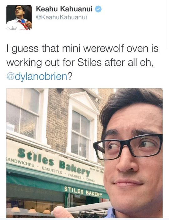 The best name ever go Stiles