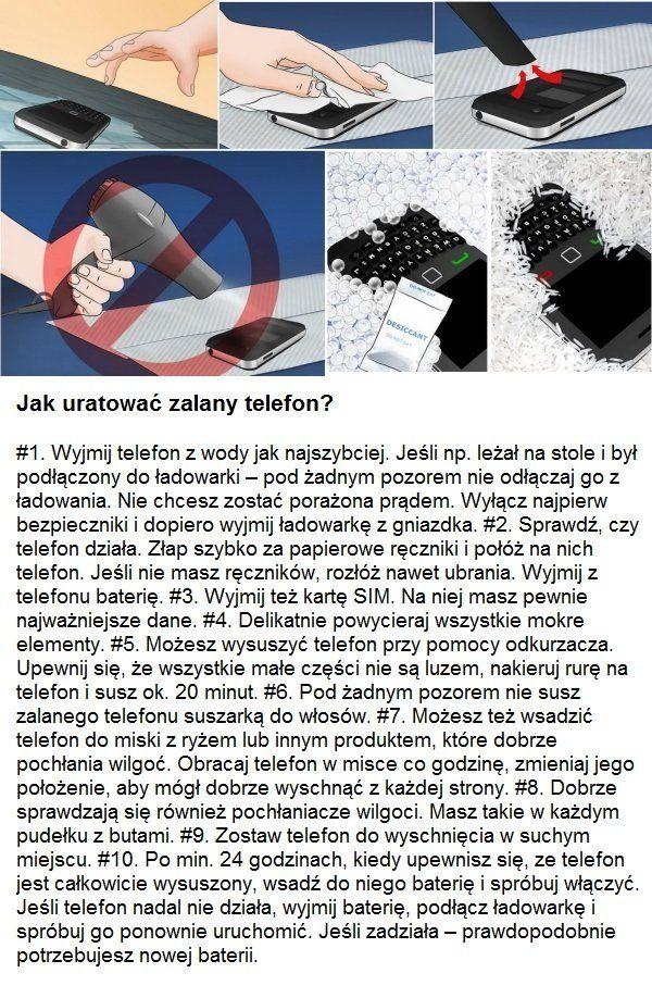 Jak Uratowac Zalany Telefon Doms