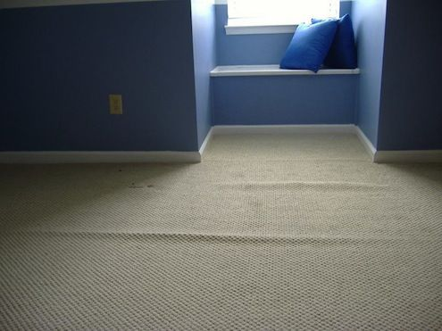 How to Smooth Carpet Wrinkles
