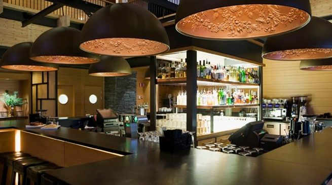 #design #lamps at Hotell Åre - Copperhill Mountain Lodge