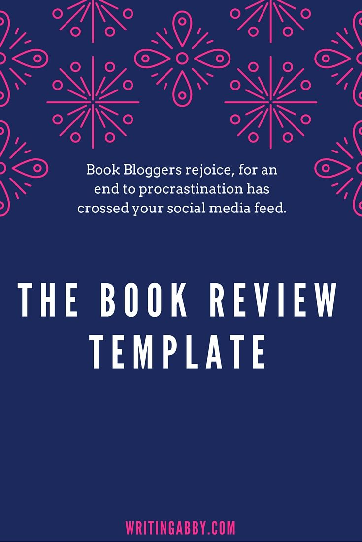 Bloggers, if you review fiction (and I'm guessing that you do, since you  clicked on this link), then I've got a treat for you. You know the precious  time that you spend crafting your reviews? Yeah, forget that. In this post,  you'll find a template for writing a book review.  It includes prompt questions to stimulate your brain if you're suffering  from Book Bloggers Block. Have at it fellow bloggers, and procrastinate no  more.