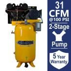 Industrial Plus Series 80 Gal. 7.5 HP 3-Phase 2-Stage Stationary Electric Air Compressor