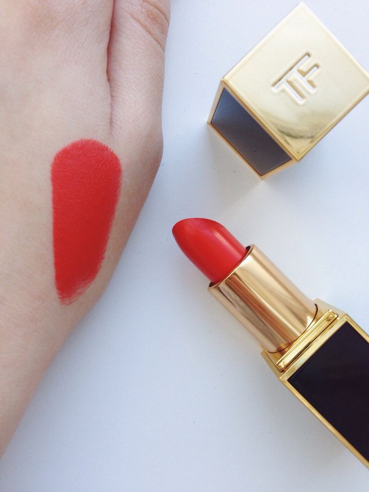 Tom Ford Lipstick Lip Color Matte 06 Flame
