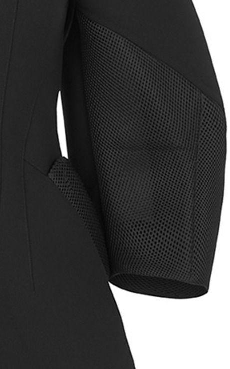 Modeconnect.com - Black Oleander Jacket by Maticevski for Preorder on Moda Operandi