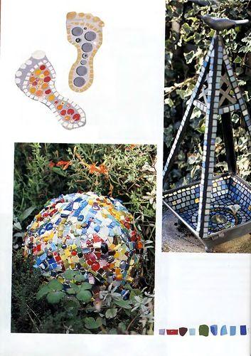 Книга: Мозаика для сада