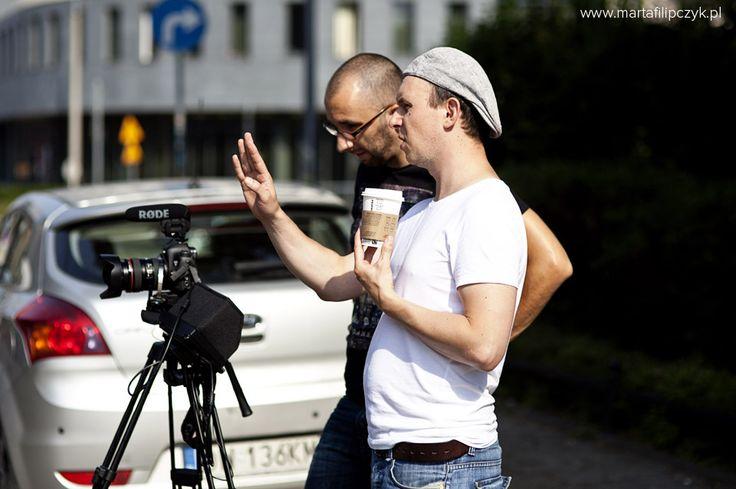 Piotr Łukaszczyk and Adam Konarski #film #movie #series #backstage #behindthe scenes