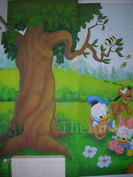 τοιχογραφία παιδικού δωματίου